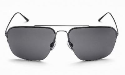 Audi Sonnenbrille dark gun Herren Sonnenbrille Metall sunglases