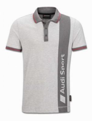 Poloshirt Audi Sport, grau