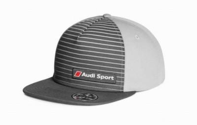 Audi Sport Snapback-Cap gestreift