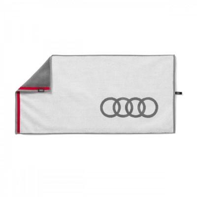 Audi Handtuch, Audi Badehandtuch, Audi Strandlaken 50x100cm
