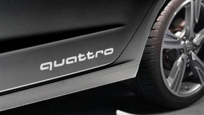 Original Audi Schriftzug