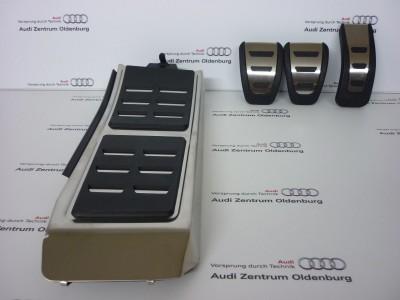 Audi A6 /A7 Pedalkappen Set, Schaltgetriebe