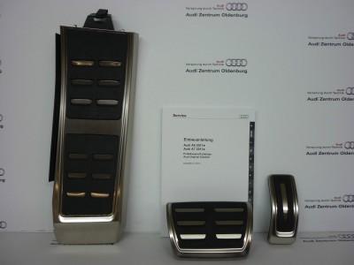 Audi A6 /A7 Pedalkappen Set, S-tronic/Automatik