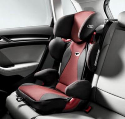 Audi Kindersitz Youngster Advanced 4-12 Jahre, rot/schwarz