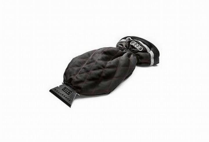 audi eiskratzer mit handschuh pflegemittel shop audi. Black Bedroom Furniture Sets. Home Design Ideas
