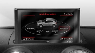 Nachrüstsatz Audi Drive Select Audi A3 Schaltgetriebe