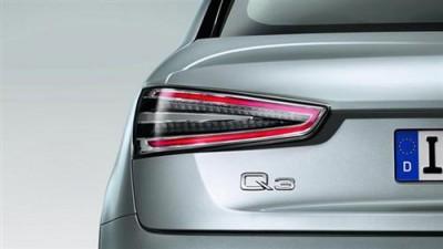 Audi Q3 LED Heckleuchten/ Rückleuchten Klarglas