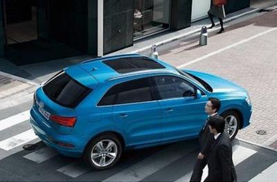 Audi Q3 Sonnenschutzfolie / Tönungsfolie