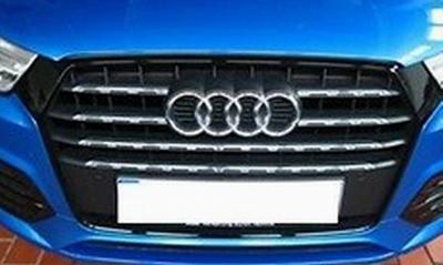 Audi Q3 Chromzierleisten-Set für den Kühlergrill /Singleframe