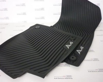 Audi A4 Gummimatten vorne (Modell 8W /B9 ab Modelljahr 2016)