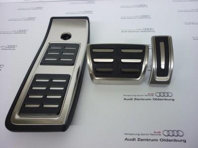 Audi Pedalkappen- Set aus Edelstahl für S-tronic, Audi Q5 FY ab 2017