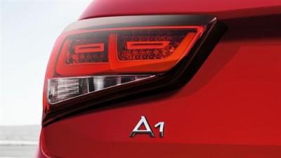 Audi A1 LED Heckleuchten /Rückleuchten abgedunkelt/ blackline