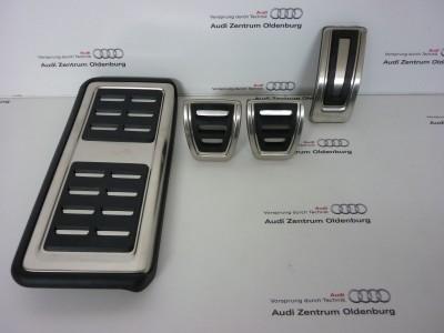 Audi A1 Pedalkappen- Set, Schaltgetriebe ab Modelljahr 2015