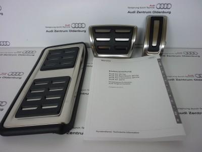 Audi A1 Pedalkappen- Set, S-tronic/Automatik ab Modelljahr 2015