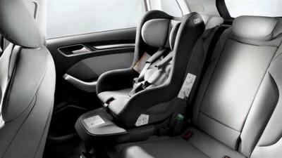 Audi Kindersitz titangrau/ schwarz, 12-48 Monate