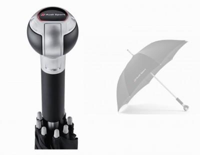 Audi Sport Regenschirm mit Schaltknauf