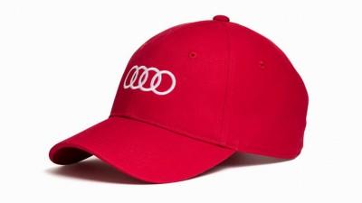 Audi Cap /Baseballkappe rot