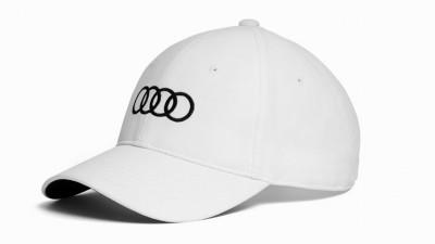 Audi Cap /Baseballkappe weiss