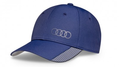 Audi Baseballkappe Premium blau