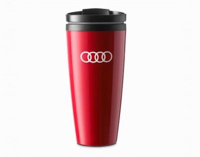 Audi Trinkbecher, Becher in rot