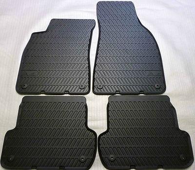 Audi A4 Gummimatten für vorne und hinten, A4 Modell 8E /B7