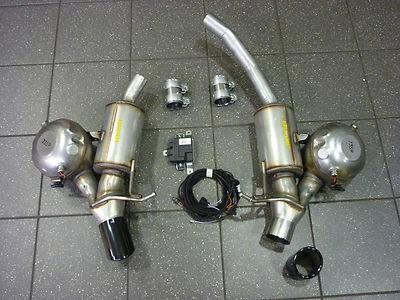 Original Audi Motorsoundsystem! Sportauspuff Audi A4 und A5,-ORIGINAL-