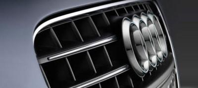 Audi Chromzierleisten,Audi A4 Modell 8K für Kühlergrill, Modelljahr 2013-2015