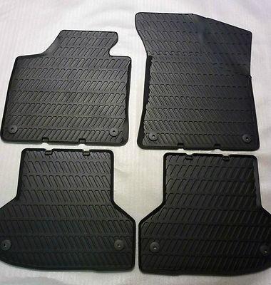 Audi A3 Gummimatten/Gummifussmatten für vorne und hinten, A3 Modell 8P