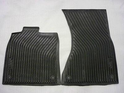 Audi A6 4G Gummimatten/Gummifußmatten für vorne, A6 Modell 4G