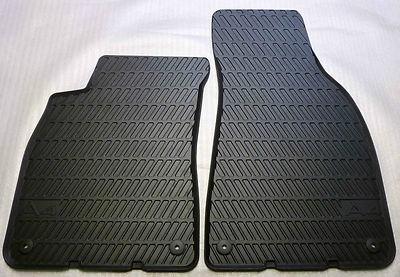 Audi A4 Gummimatten/Gummifußmatten für vorne, Modell 8E /B7