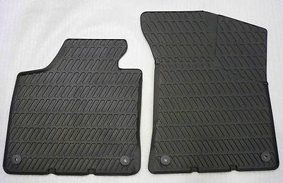 Audi A3 Gummimatten/Gummifußmatten für vorne, A3 Modell 8P