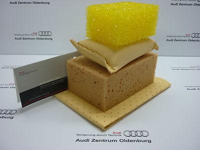 Original Audi Schwamm Set , Audi Schwammset