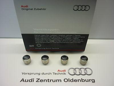 Original Audi Ventilkappen, Kappen für Ventile, ---NEU/OVP---