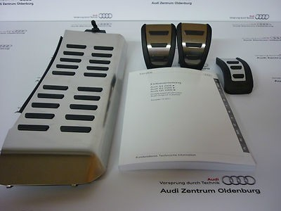 Audi Pedalkappen- Set Audi A4, Audi A5, Audi Q5 ab Mj. 2008