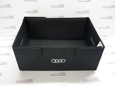 Audi Kofferraumbox, Audi Gepäckkorb, Audi Faltbox, Audi Tasche / Einkaufstasche
