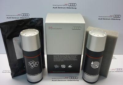 Audi Pflegemittel Set für Cabrio- Verdecke, Audi Verdeckreiniger (EUR 49,17/L)