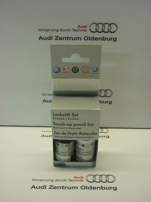Lackstift Set LY9T; Mythosschwarz-metallic, Lackstift Y9T