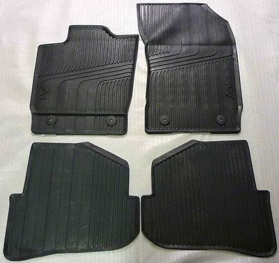 Audi A1 Gummimatten/Gummifußmatten für vorne und hinten