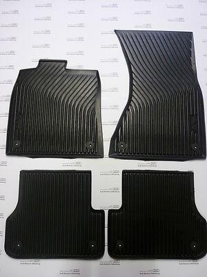 Audi A6 (Modell 4G) Gummimatten für vorne u. hinten, Gummifussmatten