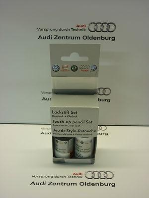 Lackstift Set LX7W; Eissilber-metallic, Lackstift X7W
