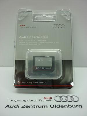 Audi SD Karte 16 GB, Original Audi Speicherkarte SDHC Class 10