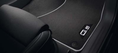 Audi Q5 Fußmatten (4 Stk.), Premium Textilfußmatten Audi Veloursmatten