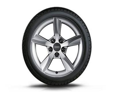 Winterkomplettradsatz Audi A6, 5-Arm-Design 16 Zoll