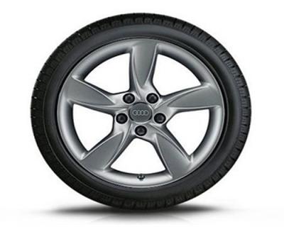 Winterkomplettradsatz Audi A6, 5-Arm-Helica-Design 17 Zoll