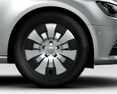 Winterkomplettradsatz Audi A3 (Modell 8V) Stahlfelge mit Radkappe