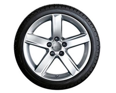 Winterkomplettradsatz Audi A4, Modell 8K/B8, Alufelge 17 Zoll