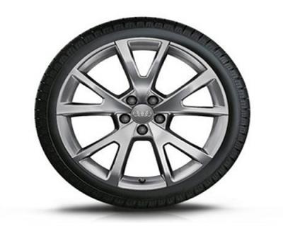 Winterkomplettradsatz Audi A6, 5-V-Speichen-Design, 18 Zoll