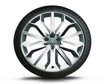 Winterkomplettradsatz Audi A6, 15-Speichen-Stern-Design, 19 Zoll