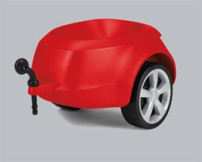Junior quattro Anhänger, rot