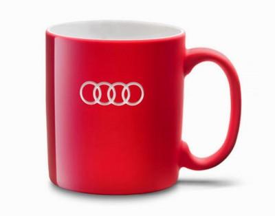 Audi Tasse, Audi Becher, rot